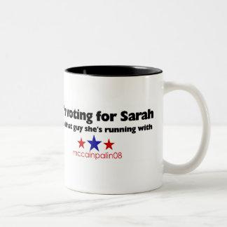 I'm voting for Sarah Two-Tone Coffee Mug