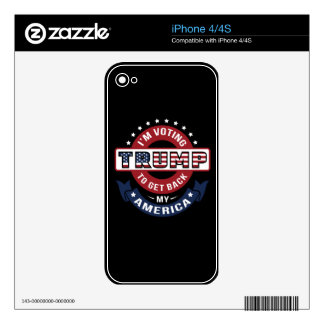 I'm Voting Trump To Get Back MY America Skins For The iPhone 4