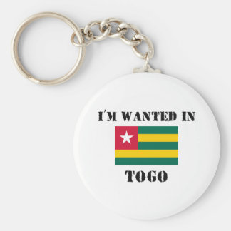I'm Wanted In Togo Key Chain
