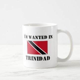 I'm Wanted In Trinidad Coffee Mug
