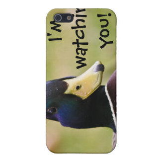 I'm Watching You Funny Duck i Case For iPhone SE/5/5s
