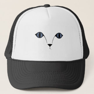 I'M WATCHING YOU! (Kitty cat's eyes) ~ Trucker Hat