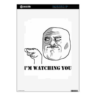 I'm watching you - meme decal for the iPad 2