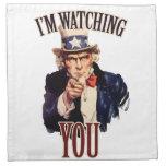 I'm watching YOU Napkins