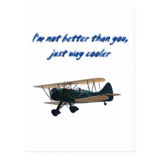 I'm Way Cooler,  WACO Postcard