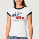 I'm Wit' Mitt, Funny Pro-Mitt Romney Patriotic T Shirt
