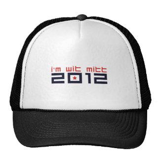 I'M-WIT-MITT TRUCKER HAT