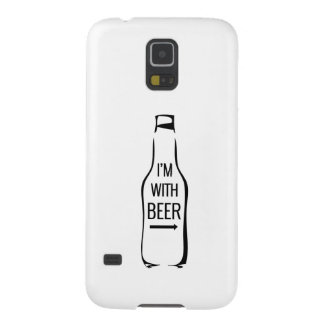 I'm With Beer Galaxy S5 Case