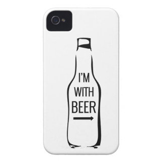I'm With Beer iPhone 4 Case