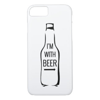 I'm With Beer iPhone 8/7 Case