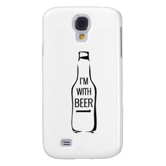 I'm With Beer Samsung S4 Case