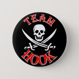 I'm with Captain Hook Pinback Button