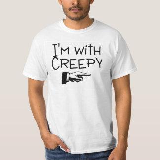 Im With Creepy Tee Shirts
