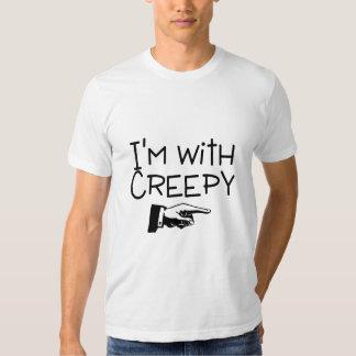 Im With Creepy Tees