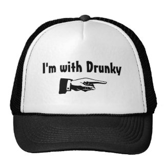 Im With Drunky Mesh Hat