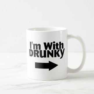 Im With Drunky Coffee Mug