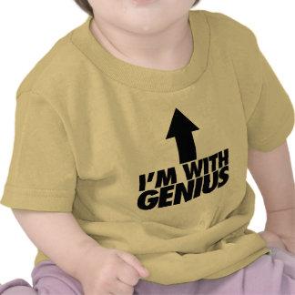 Im With Genius Shirts