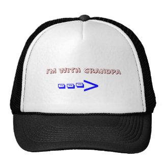 I'm with Grandpa Trucker Hat
