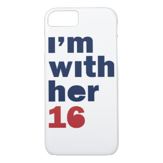 I'm With Her - Hillary Clinton 2016 Phone Case