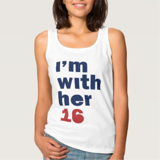 I'm With Her Tank Top - Hillary Womens Tank Top