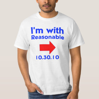 I'm with Reasonable Right T-Shirt