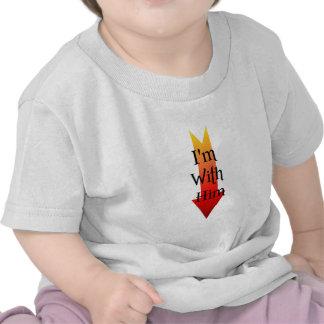 I'm With Satan Shirts