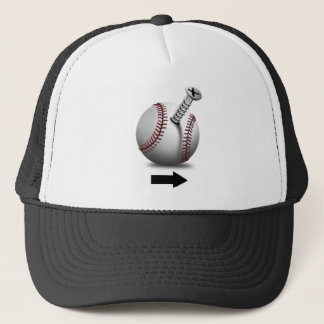 I'm with Screwball Trucker Hat