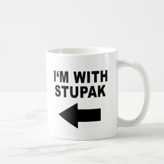 I'm With Stupak Coffee Mug