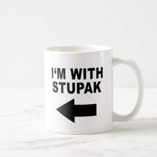 I'm With Stupak Mugs