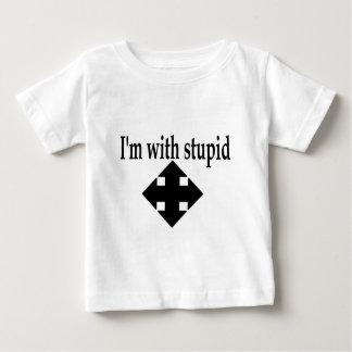 Im With Stupid 6 Baby T-Shirt