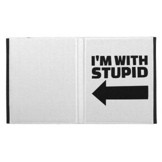 I'm with stupid iPad case