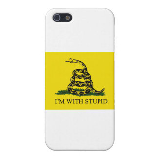I'm With Stupid iPhone SE/5/5s Cover