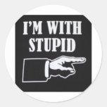 Im-With-Stupid Sticker