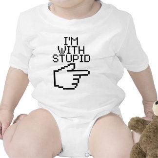 I'm with Stupid Baby Bodysuits