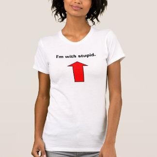 I'm with Stupid vest. Dresses