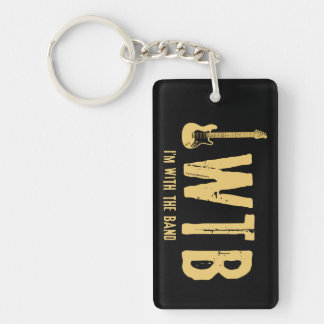 I'm With The Band Keychain