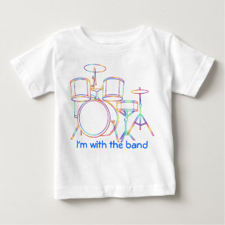 I'm with the band T-shirt  drums