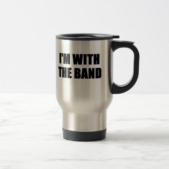 I'm With the Band Travel Mug