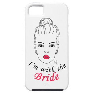 I'm with the Bride iPhone SE/5/5s Case