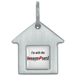 I'm with the Honeymooners! Pet Tags