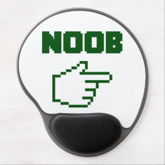 I'm With The Noob Newbie Gel Mouse Pad
