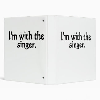 I'm with the singer design binders