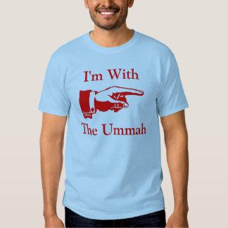 I'm With The Ummah T Shirt