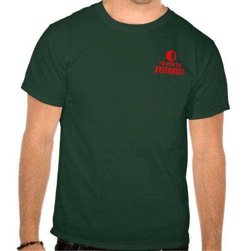 I'm With the ZEITGEIST - Pocket Motif Shirt