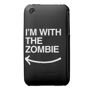 I'M WITH THE ZOMBIE Case-Mate iPhone 3 CASES