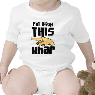 I'm With This Khar Tees