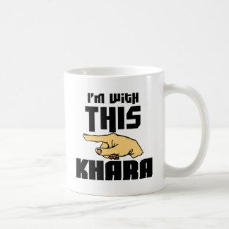 I'm With This Khara Coffee Mug