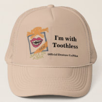 """""""I'm with Toothless"""" Hat"""