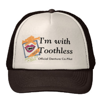 """""""I'm With Toothless"""" Trucker Hat"""