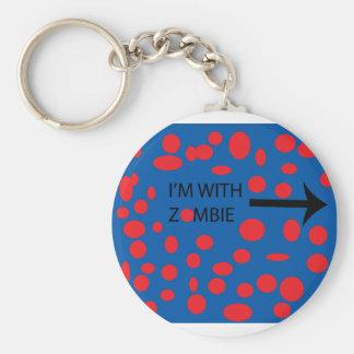 im with zombie keychain